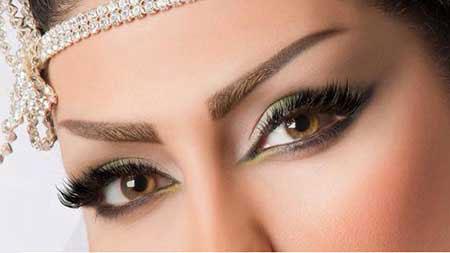 آرایش چشم عسلی, میکاپ چشم عسلی, نحوه میکاپ چشم عسلی