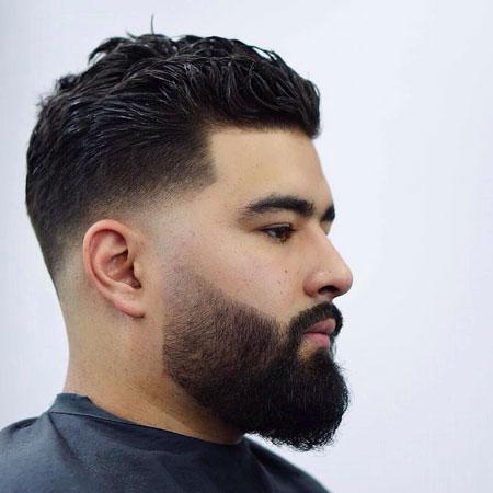 مدل ریش برای صورت گرد ,انواع مدل ریش برای صورت گرد ,تصاویر انواع مدل ریش برای صورت گرد