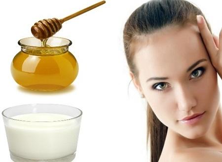 خواص ماسک شیر و عسل, طرز تهیه ماسک شیر و عسل, ماسک شیر و عسل برای دور چشم