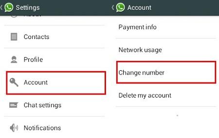تغییر شماره در واتس اپ اپل, چگونگی تغییر شماره در واتس اپ, تغییر شماره واتساپ به شماره مجازی
