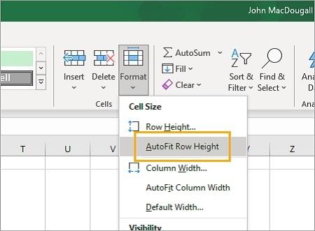آشنایی با Wrap Text, قرار دادن متن در چند خط اکسل, نحوه بسته بندی متن Excel
