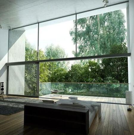 ایده هایی برای شیشه بالکن, انواع شیشه بالکن, انواع مدل های شیشه بالکن