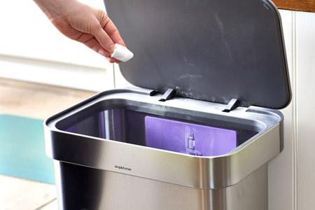 بوی بد سطل زباله, از بین بردن بوی بد سطل زباله,ترفندهایی ساده برای از بین بردن بوی سطل زباله منزل