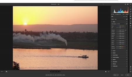 %name ویرایش تصاویر با فیلتر خام دوربین (camera raw) در فتوشاپ