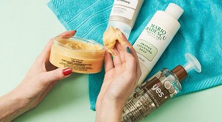 روشهای پاکسازی پوست خشک, پاکسازی پوست خشک در منزل, آموزش پاکسازی پوست خشک