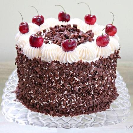 کیک جنگل سیاه, اموزش کیک جنگل سیاه, طرز تهیه کیک جنگل سیاه