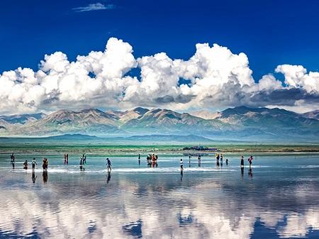 زمان مناسب سفر به دریاچه نمکی چاکا, زیباترین دریاچه در چین, حقایق دریاچه نمک چاکا