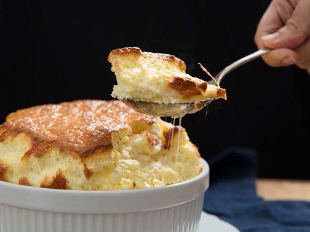 سوفله پنیر, سوفله پنیر فرانسوی, مواد لازم سوفله پنیری