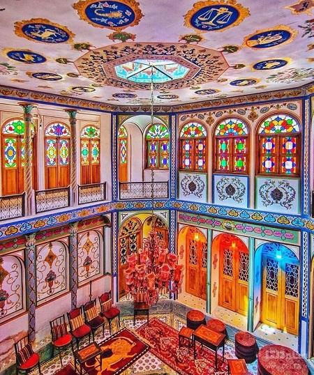 عکس خانه ملاباشی اصفهان, ویژگی های خانه ملاباشی, خانه ملاباشی
