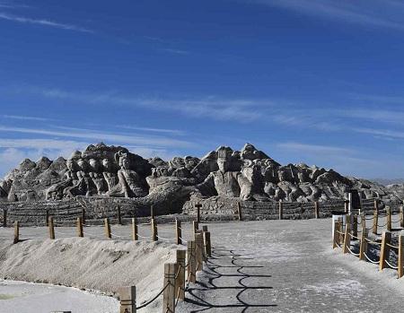 دریاچه نمک چین, دریاچه نمک چاکا, آب و هوای دریاچه چاکا